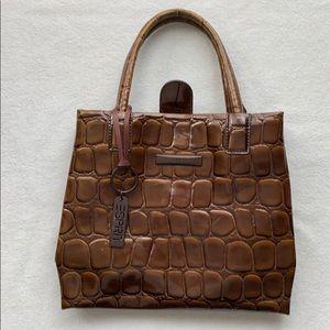 Vintage Esprit faux gator handbag